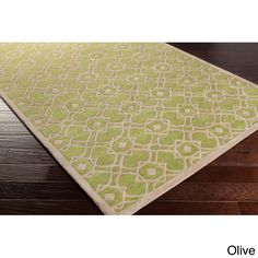 Hand-tufted Karen Contemporary Wool Area Rug