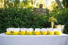 Decoración con limones