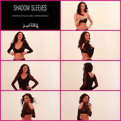 Joseph Ribkoff | Shadow Sleeves. Who says your arms can't enjoy a fashion makeover! Shadow Sleeves by Joseph Ribkoff transform you into a noticeably flawless you. Available at ASPIRATIONS