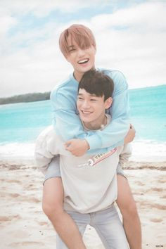 EXO (엑소) Kai (카이) & Chen (첸) from Dear Happiness photobook