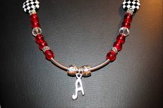 Alabama Crimson Tide Necklace Handmade by BijouxVive on Etsy, $28.00