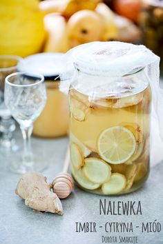Christmas Drinks Alcohol, Homemade Alcohol, Good Food, Yummy Food, Polish Recipes, Dessert Drinks, Healthy Drinks, Food Photo, Healthy Life