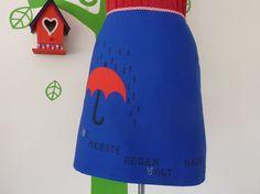 Miss Positive Rain (Size M / 38) Skirt A-line