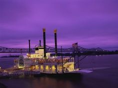 Mississippi River Boat  ~ When you click on the image, you get a tax service site. Well done...