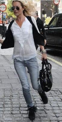 Celebrity Style Stealer Tramper Ankle Hi Fringe Boot *Ships Free*