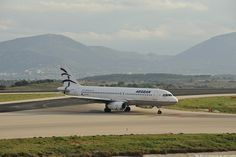 "Aegean Airbus A320-232 - cn 3812 SX-DGL First Flight 07. Jul 2009 Age 6.5 Years Test registration D-AVVE Engines 2x IAE V2527-A5 Config CY168 Athens International Airport ""Eleftherios Venizelos"" ATH/LGA"