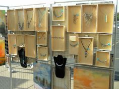 "NILE CORP. BLOG featured Marlene Brady's Booth for their ""Small Jewelry Booth Idea"" article."