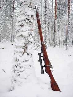 Mosin-Nagant in the Snow