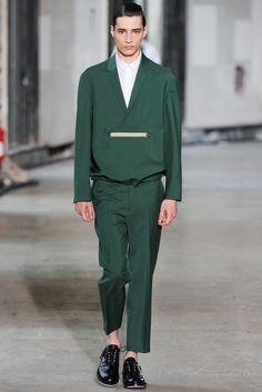Kris Van Assche - Spring 2014 Menswear - Look 4 of 39