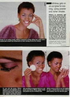 Before the voice: Whitney Houston, fashion model Whitney Houston Young, Whitney Houston Pictures, Beverly Hills, Seventeen Magazine, You Better Work, Always Love You, Music Icon, Eyeshadow Makeup, Life Is Beautiful