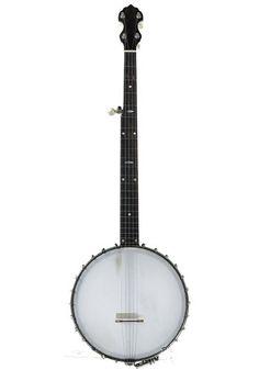 Vega Vega Fairbanks Senator 5 String 1920 Mahogany Stain, Black Felt, Banjo, Black Fedora, Banjos