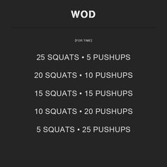 WOD Number 2. #WOD #crossfit