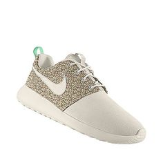 Can't wait to get these! Just designed a pair of NikeID x Liberty of London Roshe kicks. Kept it simple and luxe. @Nike Women