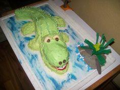 Krokodil Kuchen