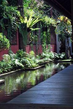 STRANGER IN PARADISE: Ubud Garden