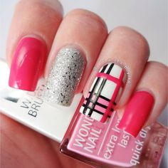 IsaDora Spain — Burberry Nail Art