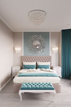 11 Modern and Luxurious Bedrooms With Baroque Style 01 Romantic Farmhouse Master Bedroom Ideas 53 Modern Bedroom Design Ideas That Very Recommended This Year Simple Bedroom Design, Luxury Bedroom Design, Bedroom Designs, Bed Design, Master Bedroom Design, Design Case, Luxury Master Bedroom, Romantic Bedroom Design, Tranquil Bedroom