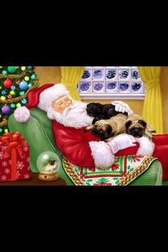 """Acquire fantastic tips on """"chinese pugs"""". They are accessible for you on our web site. Pug Christmas, Merry Christmas Everyone, Christmas Images, Christmas Themes, Merry Xmas, Pugs, Pug Puppies, Pug Illustration, Pug Cartoon"""