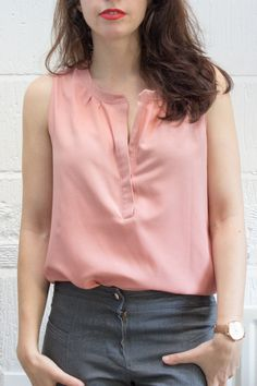 Hey June Biscayne blouse