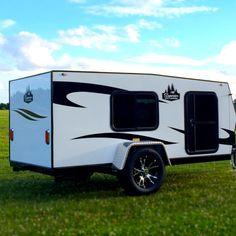 Home Made Camper Trailer, Small Camper Trailers, Small Camping Trailer, Small Travel Trailers, Tiny Camper, Small Campers, Rv Trailers, Teardrop Trailer Plans, Building A Teardrop Trailer