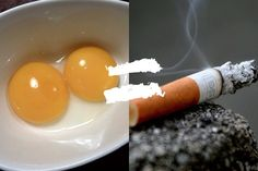 Eggs are Nearly as Bad for Your Arteries as Cigarettes!