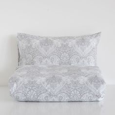 Printed cotton comforter cover and pillow case set