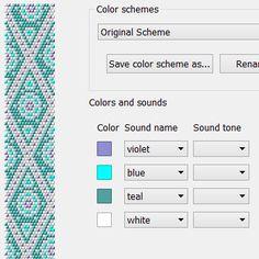 Marrocco - Free bead crochet necklace pattern for Chudibeads Universal Reader Crochet Necklace Pattern, Crochet Beaded Bracelets, Beaded Necklace Patterns, Bead Crochet Patterns, Bead Crochet Rope, Peyote Patterns, Beading Patterns, Beaded Crochet, Beading Tutorials