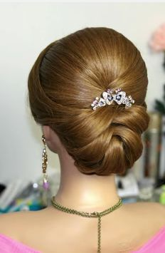 Repin It - And I'll Repin 3 Your Last Pins!!! Easy Wedding Hairstyles For Long Hair Step By Step Video Tutorial in http://diyweddingidea.blogspot.com/2015/02/bridal-updo-wedding-hairstyles-for.html