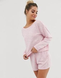 Inspirations Women/'s Rebecca Jersey Spot and Stripe Lounge Pyjamas Gift For Her