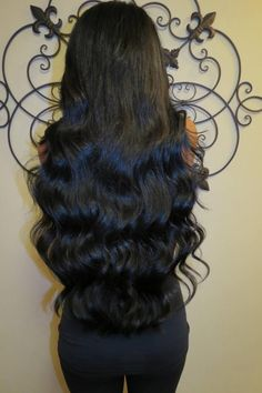 Amazing, long, thick, perfect hair.  Hair extension specialist Jandy Taylor Dying of fabulousness