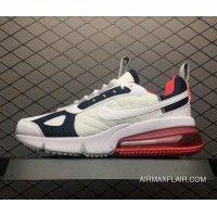 premium selection 1bd23 770ad Nike Air Max 270 Womens Futura White Rush Pink-Blue AJ7290-100 New Year  Deals