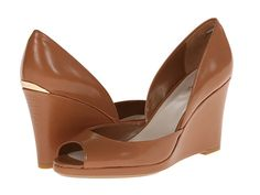 Calvin Klein Calvin Klein  Gabbie Caramel Womens Wedge Shoes for 59.99 at Im in! #sale #fashion #I'mIn