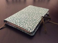 Handmade book,cover. Stylish & re-usable. Dress your book for Christmas,