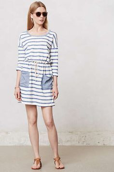 Anthropologie - Striped Terry Dress $39.95