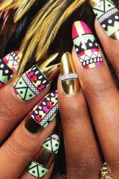 crazy cool nails..
