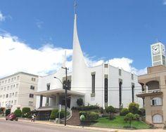 Igreja matriz.  São  Marcos-RS