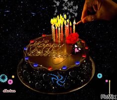 beautiful birthday cake Happy birthday Na krab. Happy Birthday Music, Birthday Cake Gif, Free Happy Birthday Cards, Happy Birthday Cake Photo, Happy Birthday Wishes Cake, Happy Birthday Frame, Happy Birthday Wallpaper, Happy Birthday Celebration, Happy Birthday Beautiful