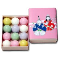 Japanese sweets for Doll Festival (Hina-matsuri), or Girls' Day held on March 3