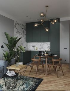 35 Beautiful And Affordable Dining Room Decoration Ideas For the Year 30 - Expolore the best and the special ideas about Dining room design Home Design, Modern Interior Design, Interior Design Inspiration, Interior Design Living Room, Living Room Decor, Design Ideas, Dining Room, Luxury Interior, Dining Area