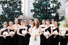 30 Inspirasi Black Dress Bagi Bridesmaids