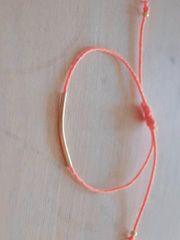 Noeud macramé pour terminer un bracelet