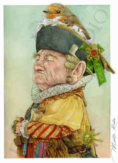 Montse Rubio Blog Goblin Tarot-Karten - Der Kaiser