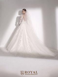 板橋蘿亞手工婚紗 Royal handmade wedding dress 婚紗攝影 購買婚紗 單租婚紗 西班牙 Elie by Elie Saab MAUI