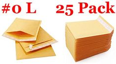Everyday Essentials EE-BM0-25 Kraft Bubble Mailers Padded Envelopes. These popular padded envelopes are sturdily built with bubble lined wall construction for extra protection during transit. These tough premium shippers are Proven solutions for a wide variety of items. Self sealing bubble mailers provide outstanding low cost shipping protection for a wide variety of products. Shipping labels adhere securely to the recycled Kraft paper cover so the incidence of lost packages is reduced....