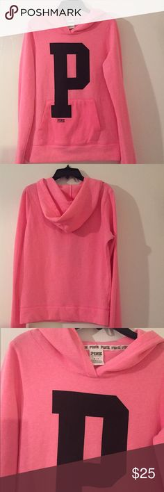 Pink Sweater In good condition. No rips or stains. PINK Victoria's Secret Sweaters