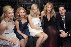 Katheryn Winnick, Kylie Minogue, Naomi Watts, Laura Dern and Adrien Brody at a Save the Children event.