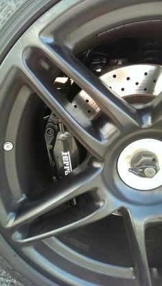 Ferrari caliper and rim, Puerto Banus - 14