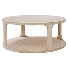 Gismo Round Coffee Table, Natural