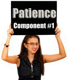P.E.A.C.E.F.U.L: Eight Components of a Peaceful Parent/Child Relationship — Component #1 Patience Dear Parents, have patience, patience, patience… If I were asked to identify eight comp…