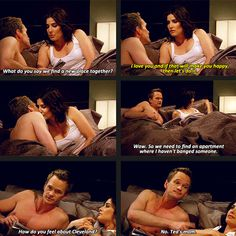 Barney & Robin . how i met your mother #himym